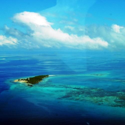 Zanzibar z lotu ptaka