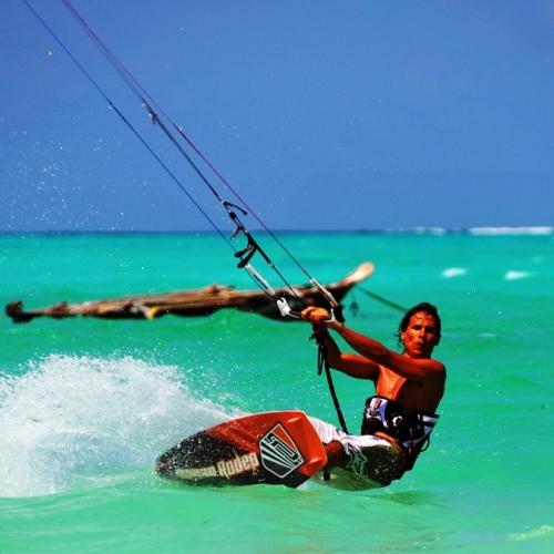 Kitesurfing na Bali