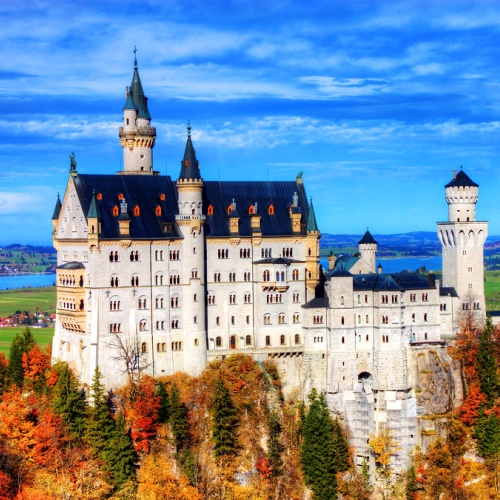 niemcy zamek neuschwanstein