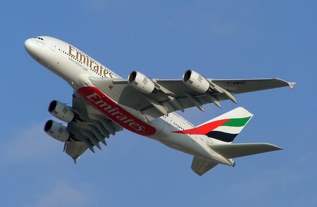 Samolot Emirates