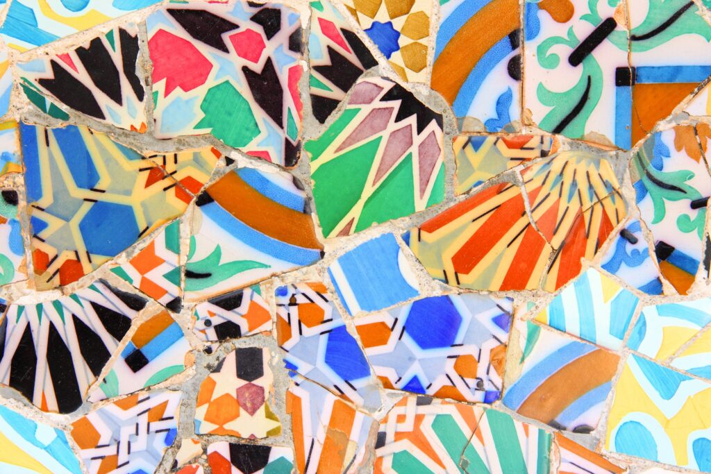 hiszpania mozaika